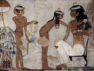 ancient Egyptian hair removal